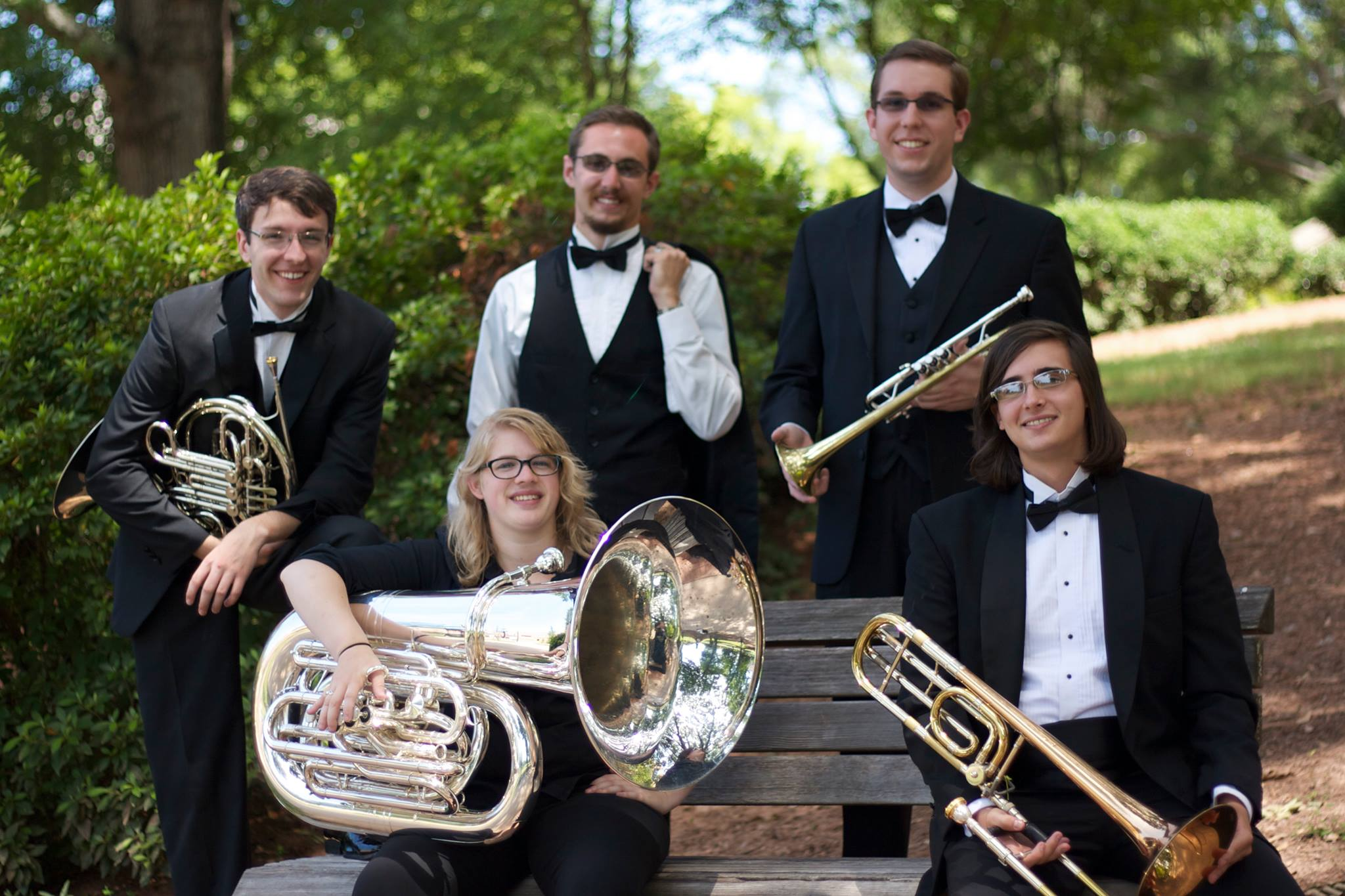 Spectacle Brass Quintet, brass ensemble Atlanta, American Brass quintet
